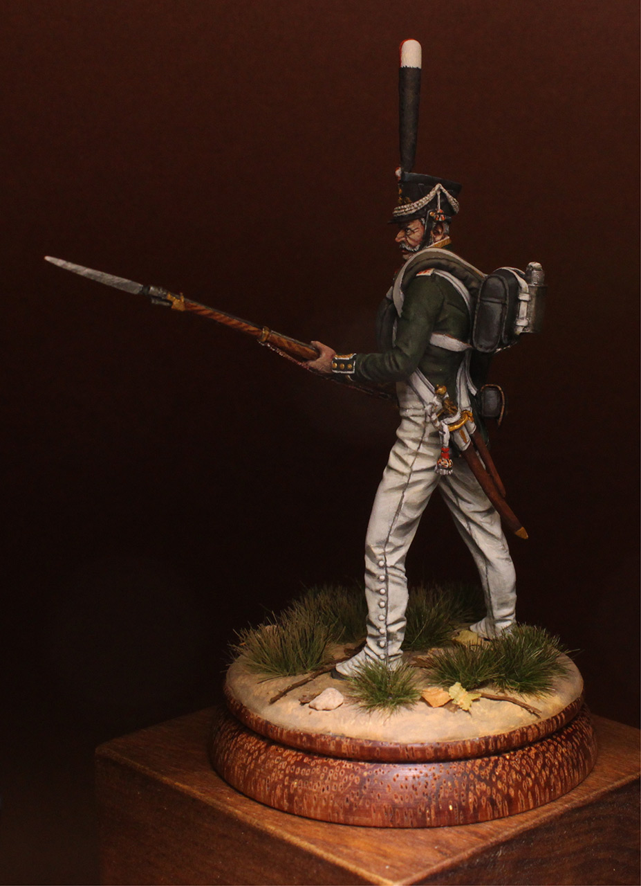 Figures: NCO, 2nd Marine regt., 1812-14, photo #4