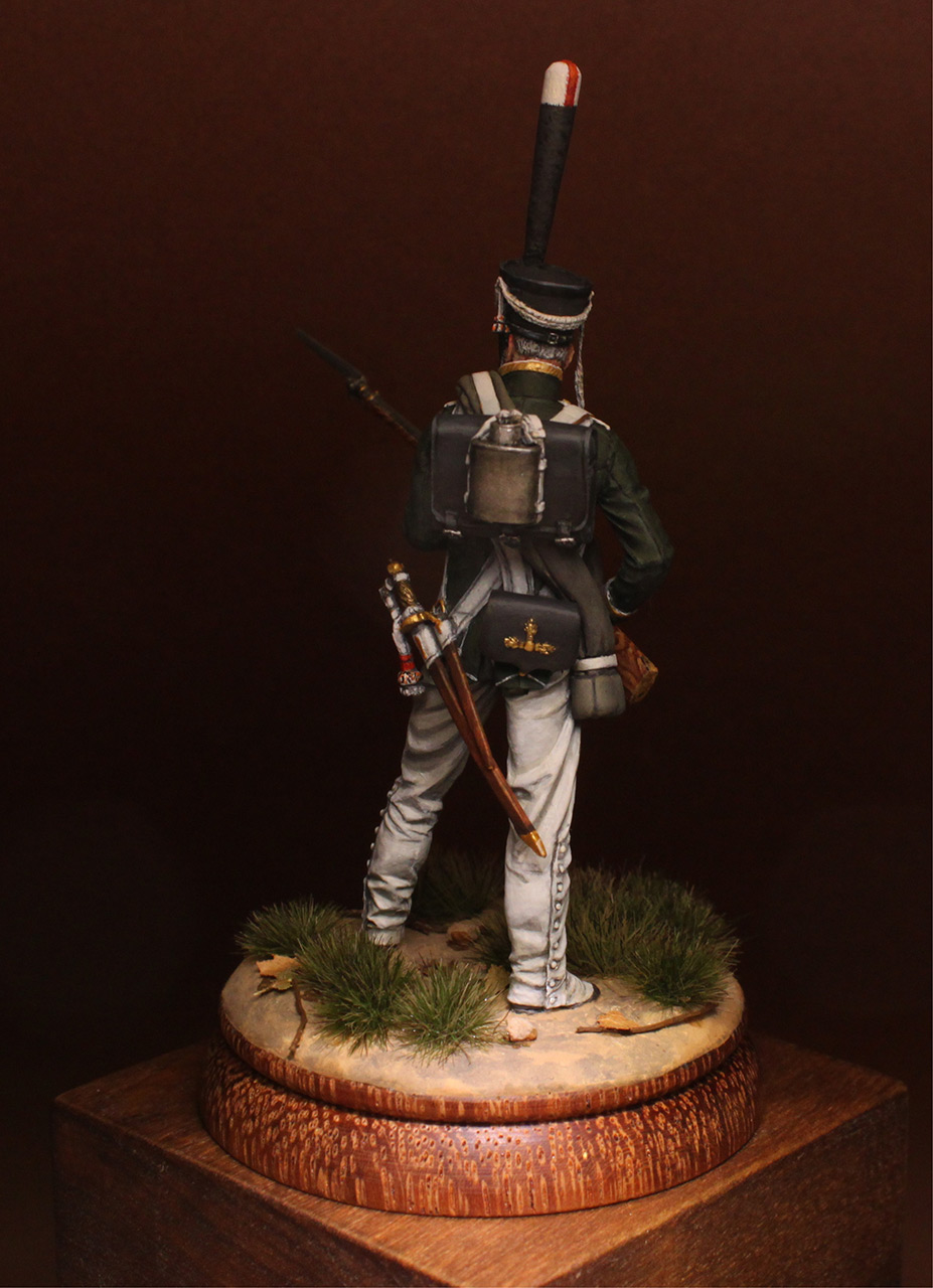 Figures: NCO, 2nd Marine regt., 1812-14, photo #6