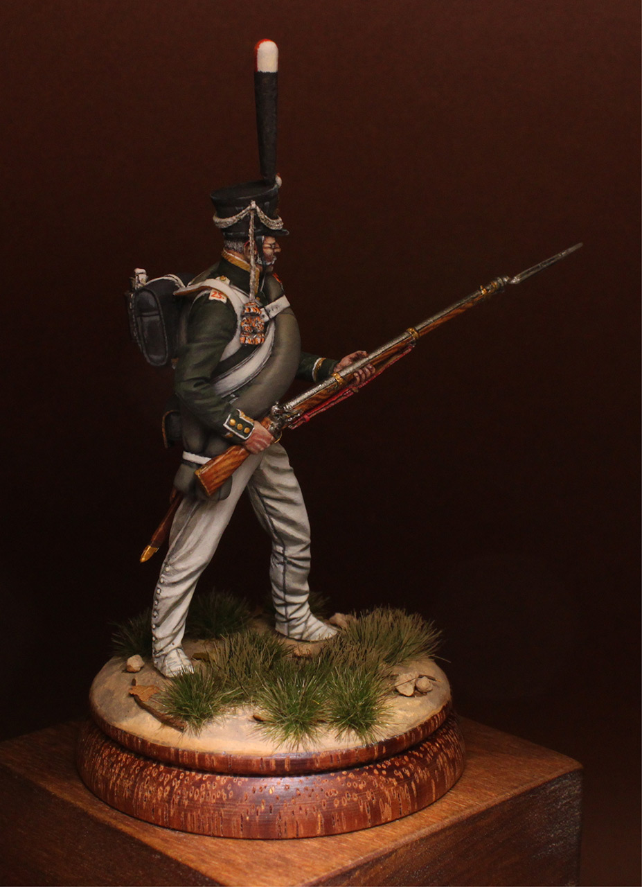 Figures: NCO, 2nd Marine regt., 1812-14, photo #8