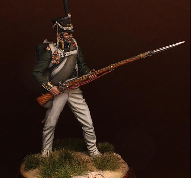 Figures: NCO, 2nd Marine regt., 1812-14