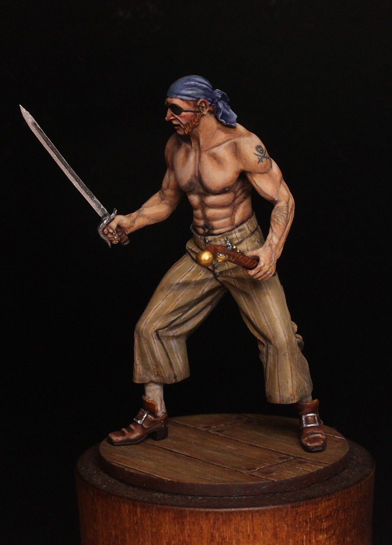 Figures: Pirate, XVIII cent., photo #3