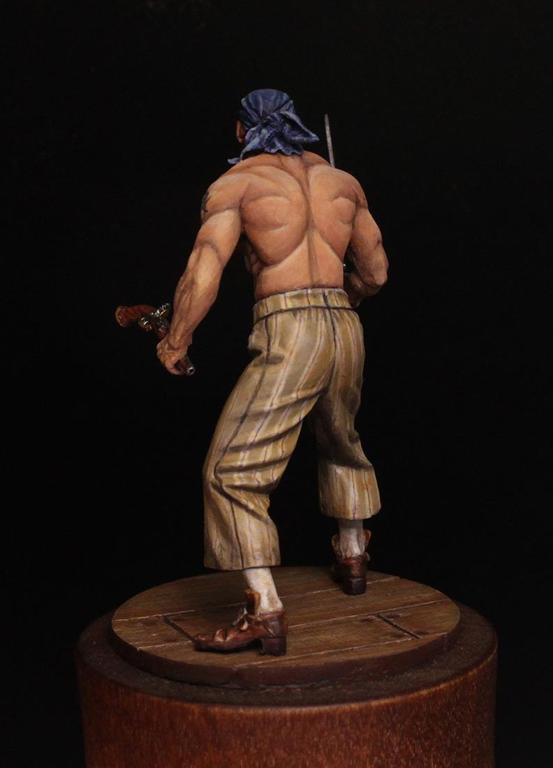 Figures: Pirate, XVIII cent., photo #5