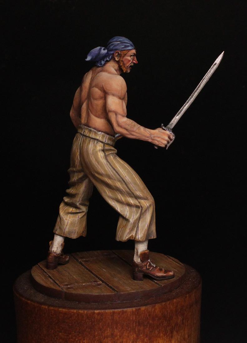 Figures: Pirate, XVIII cent., photo #7