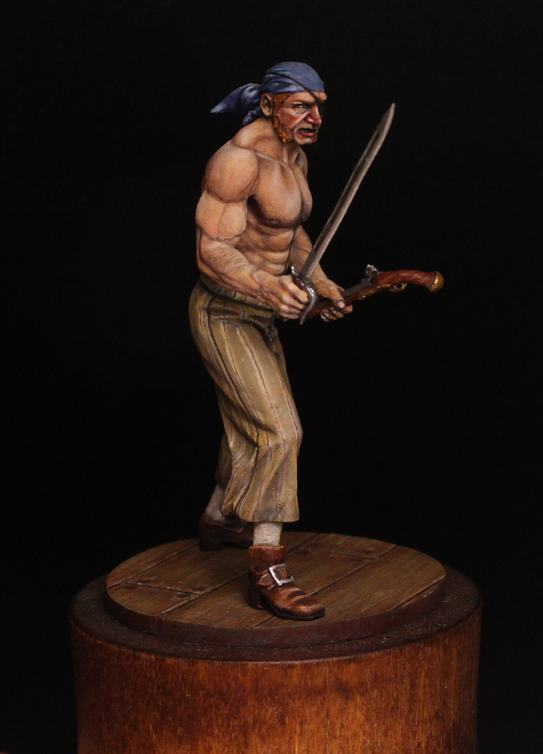 Figures: Pirate, XVIII cent., photo #8