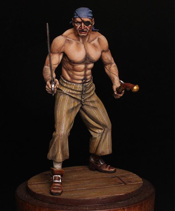 Figures: Pirate, XVIII cent.