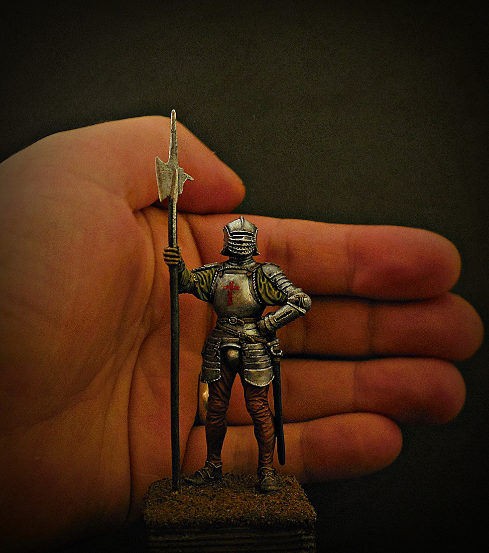 Figures: English halberdier, 1513, photo #10