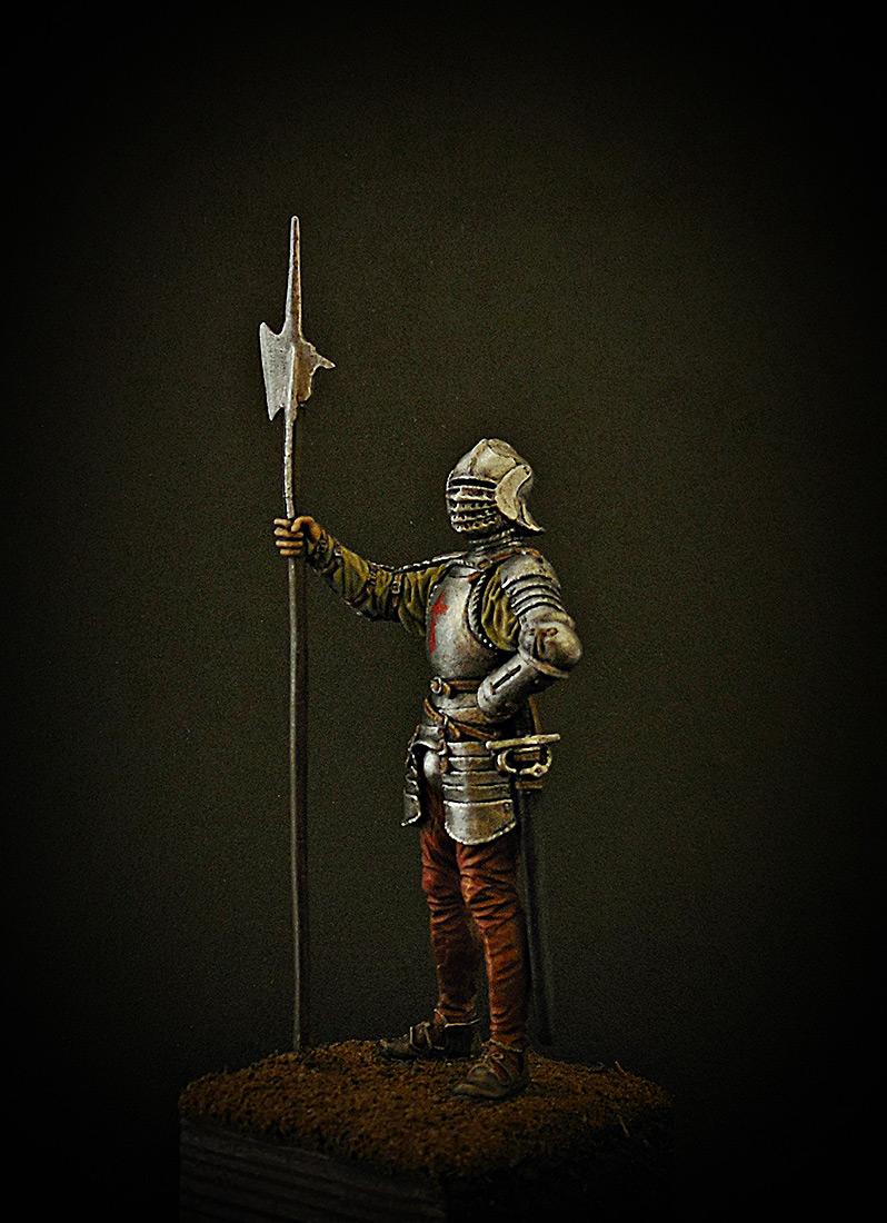 Figures: English halberdier, 1513, photo #2