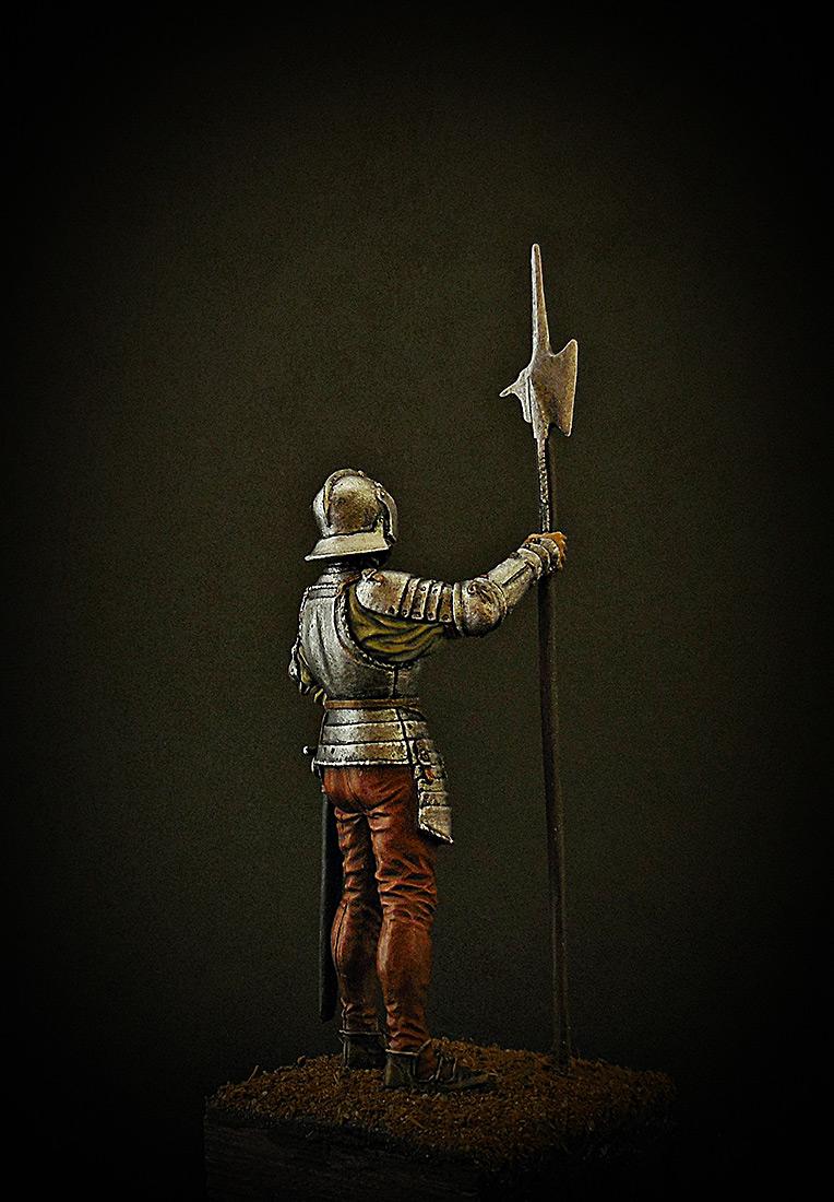 Figures: English halberdier, 1513, photo #5
