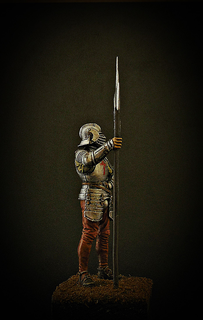 Figures: English halberdier, 1513, photo #6