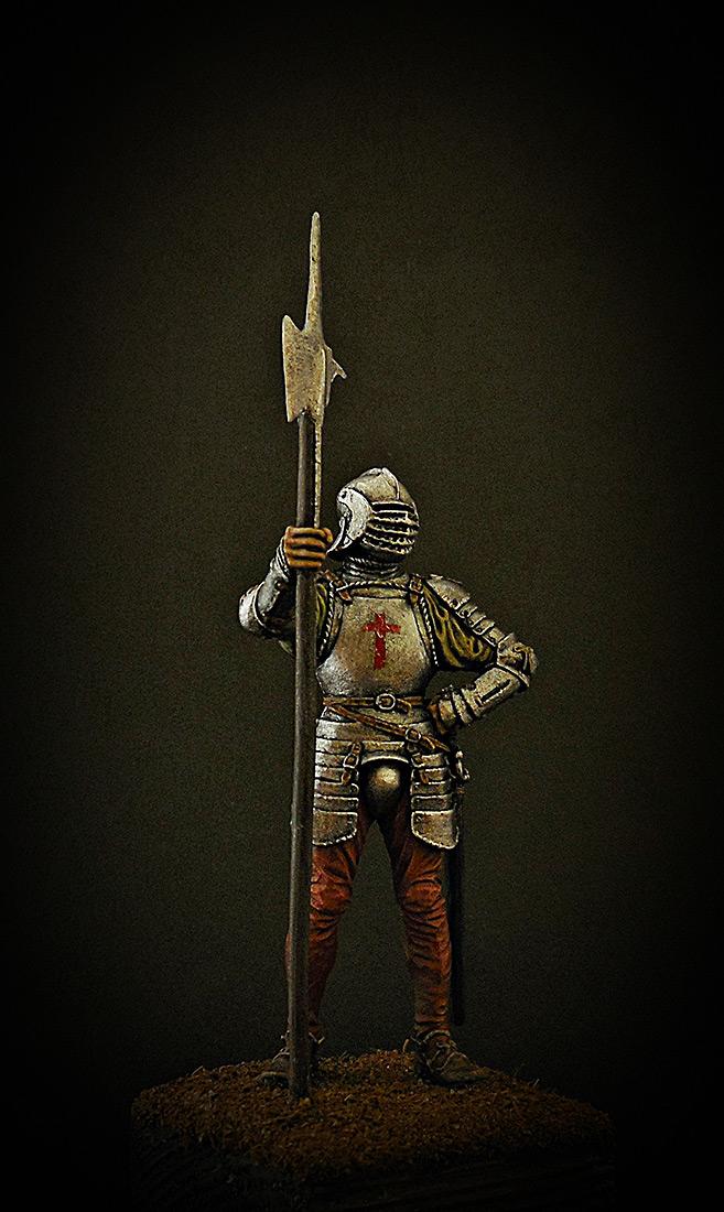 Figures: English halberdier, 1513, photo #7