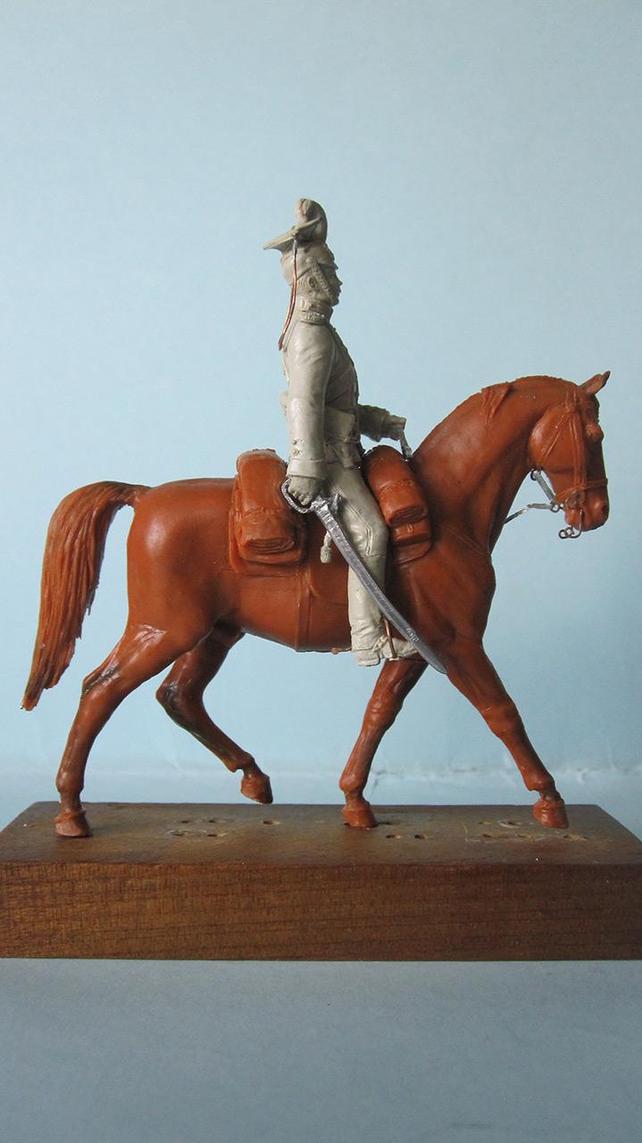 Sculpture: Captain, lancers regt., 1913, photo #2