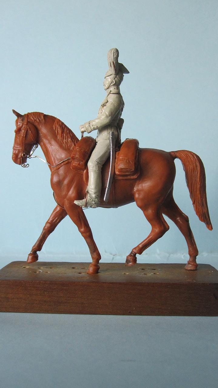 Sculpture: Captain, lancers regt., 1913, photo #3