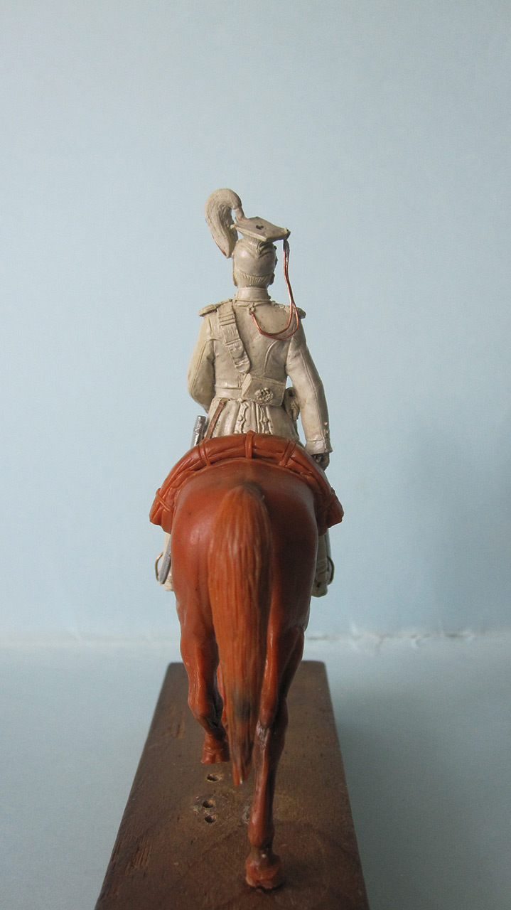 Sculpture: Captain, lancers regt., 1913, photo #5