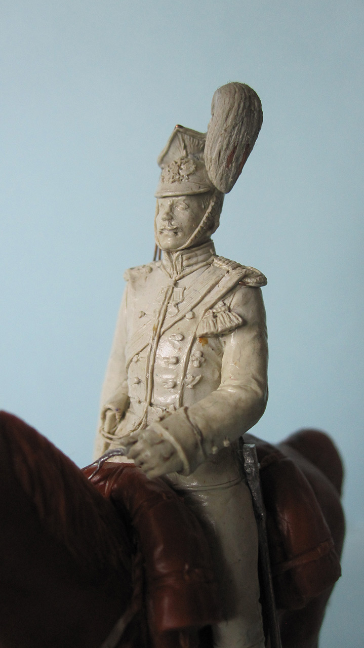 Sculpture: Captain, lancers regt., 1913, photo #6