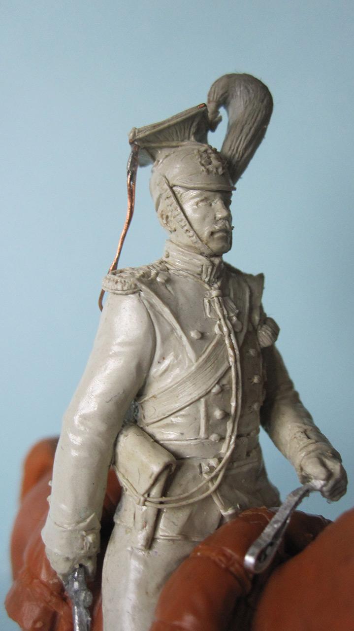 Sculpture: Captain, lancers regt., 1913, photo #7