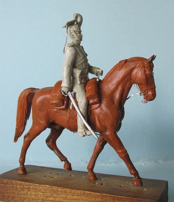 Sculpture: Captain, lancers regt., 1913
