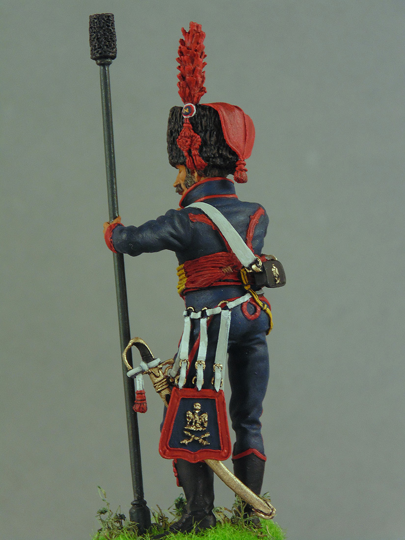 Figures: Canonier, Guards mounded artillery, Napoleonic France, photo #6