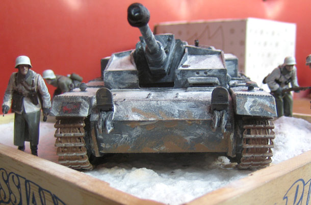 Dioramas and Vignettes: Winter Attack