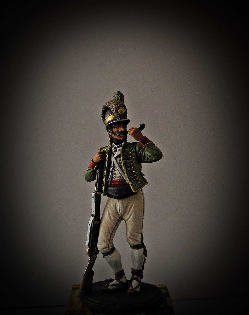 Figures: Private, Catalonian light infantry btn. Spain 1807-08, photo #1
