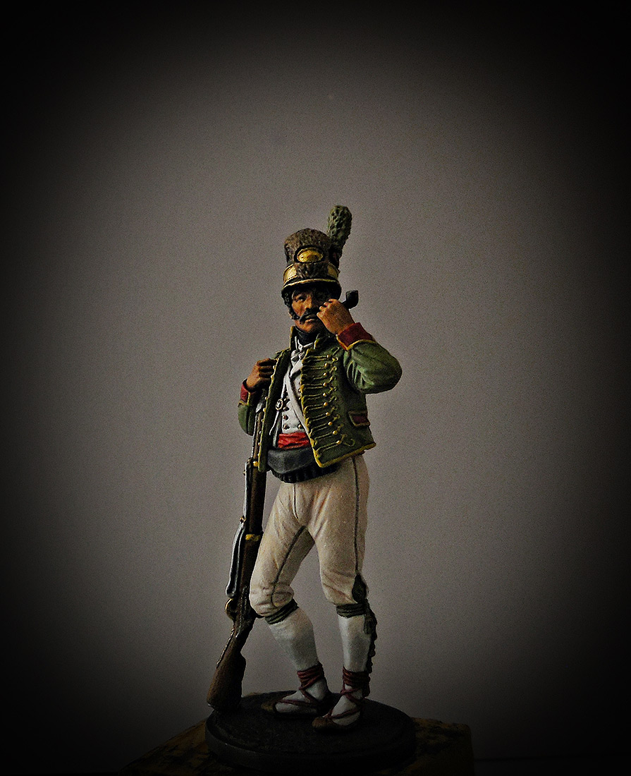 Figures: Private, Catalonian light infantry btn. Spain 1807-08, photo #2