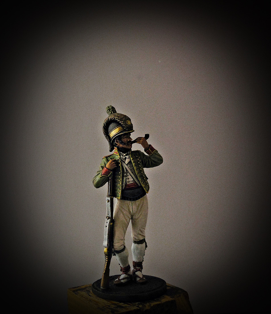 Figures: Private, Catalonian light infantry btn. Spain 1807-08, photo #7