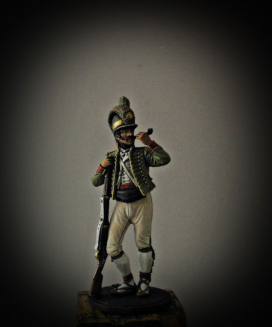 Figures: Private, Catalonian light infantry btn. Spain 1807-08, photo #8