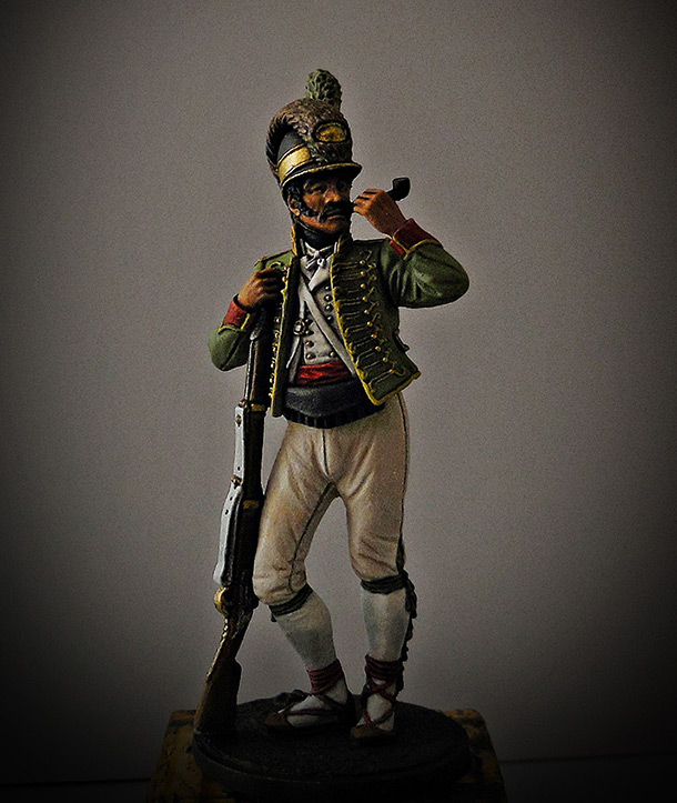 Figures: Private, Catalonian light infantry btn. Spain 1807-08