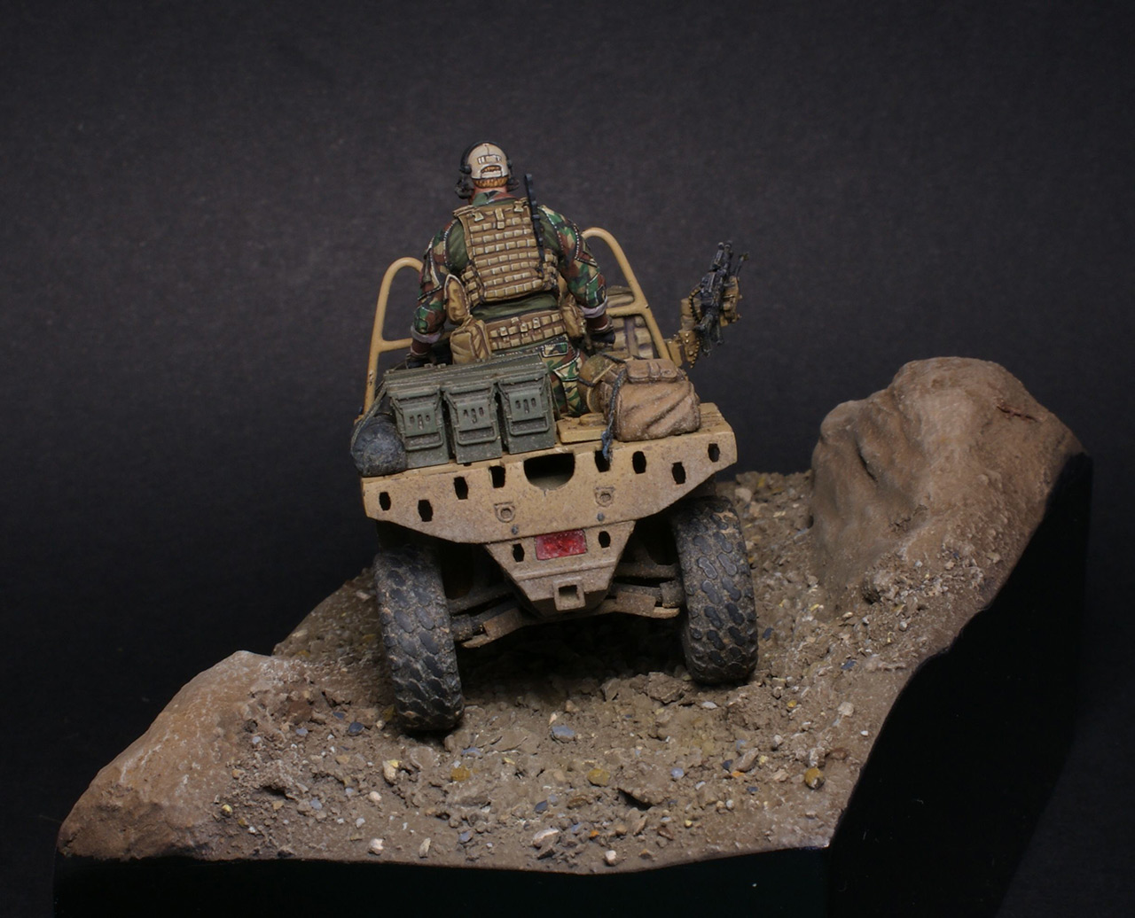 Dioramas and Vignettes: Modern cavalry. MARSOC, photo #11