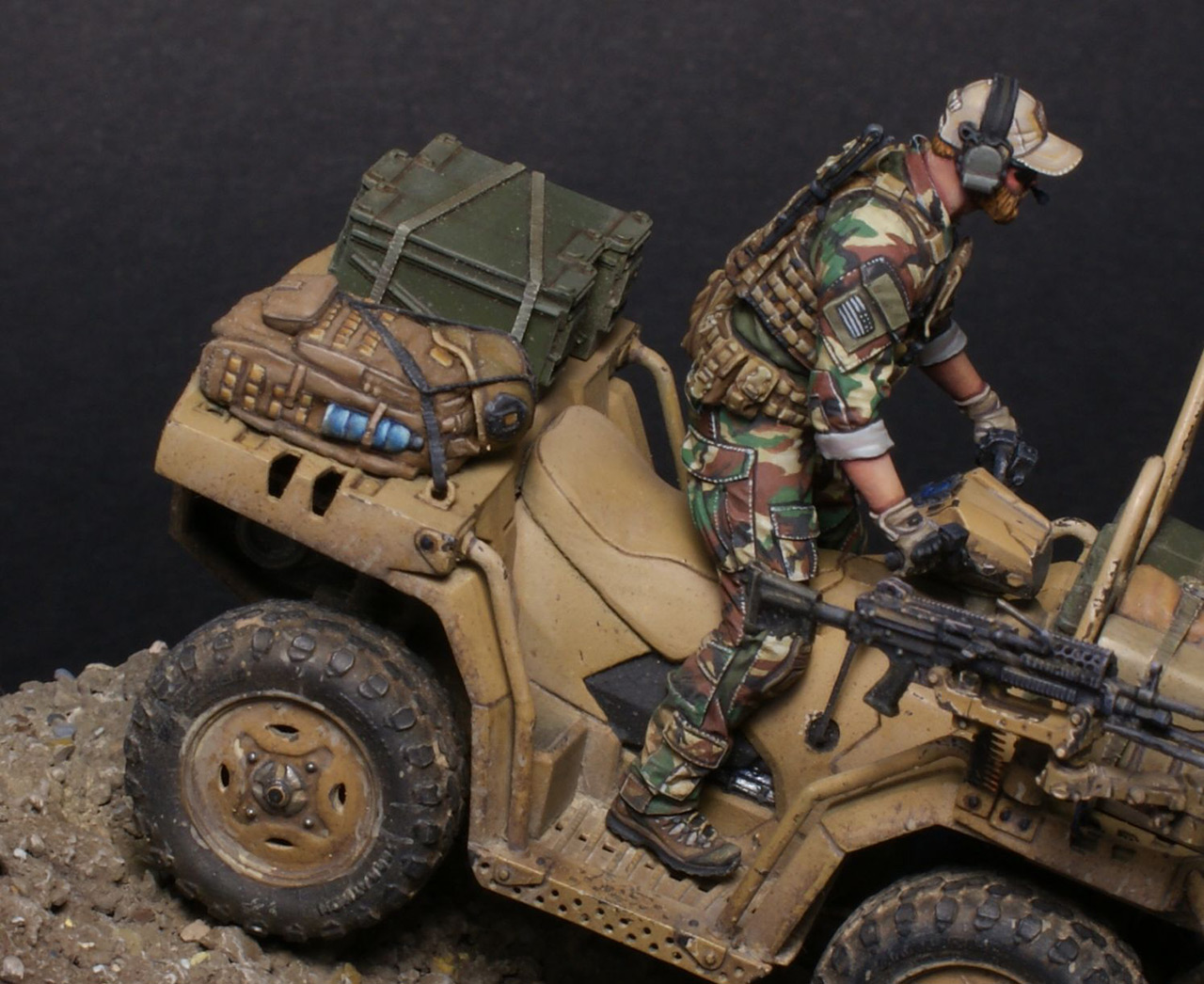 Dioramas and Vignettes: Modern cavalry. MARSOC, photo #12