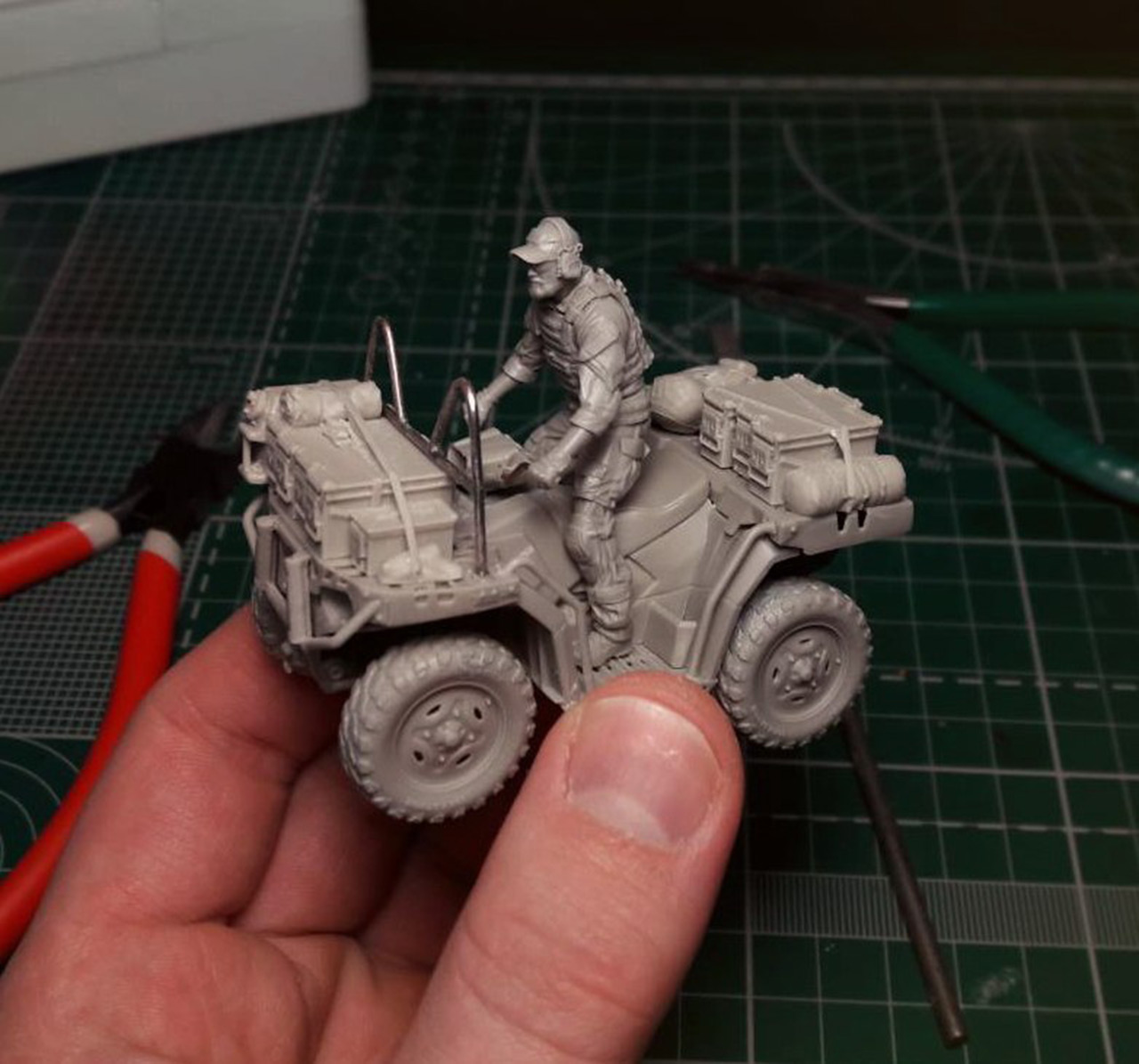 Dioramas and Vignettes: Modern cavalry. MARSOC, photo #15