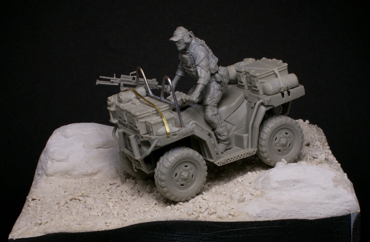 Dioramas and Vignettes: Modern cavalry. MARSOC, photo #16