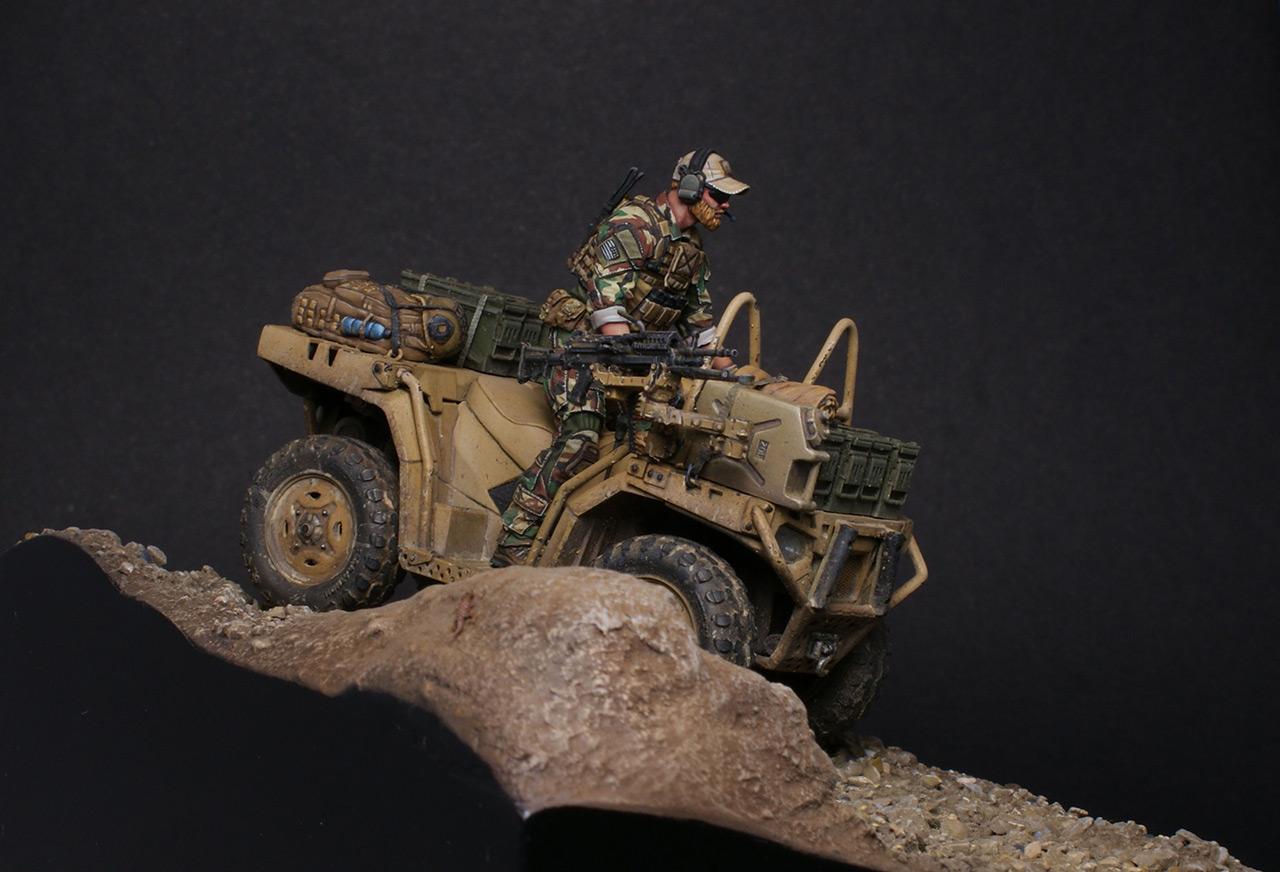 Dioramas and Vignettes: Modern cavalry. MARSOC, photo #3
