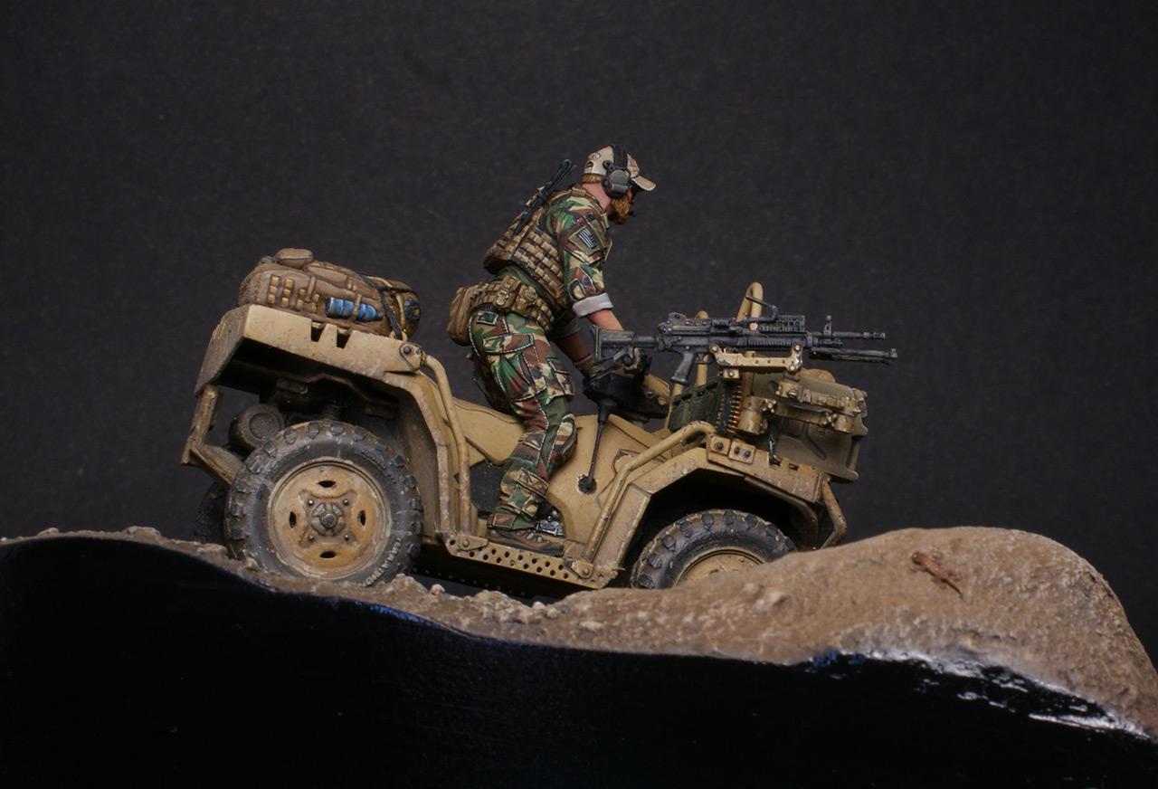 Dioramas and Vignettes: Modern cavalry. MARSOC, photo #4