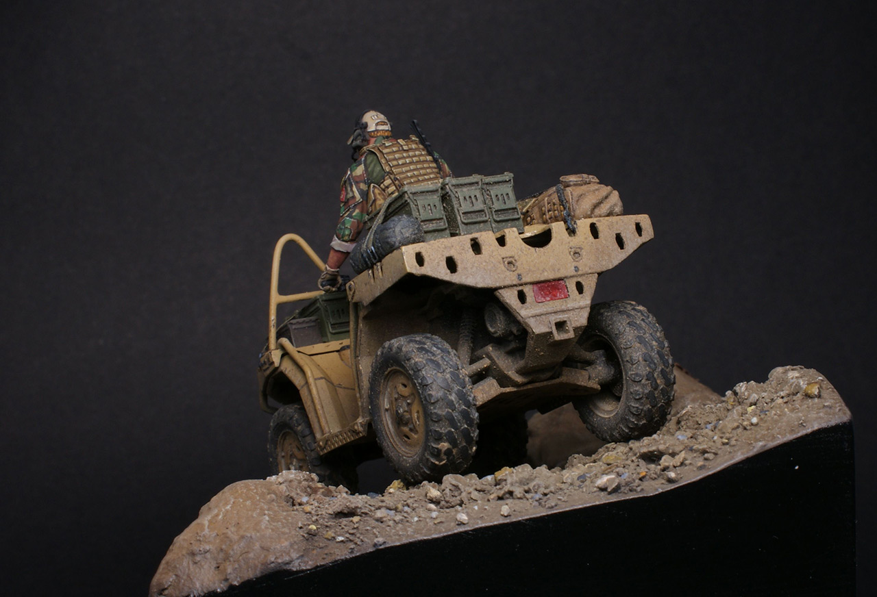 Dioramas and Vignettes: Modern cavalry. MARSOC, photo #5