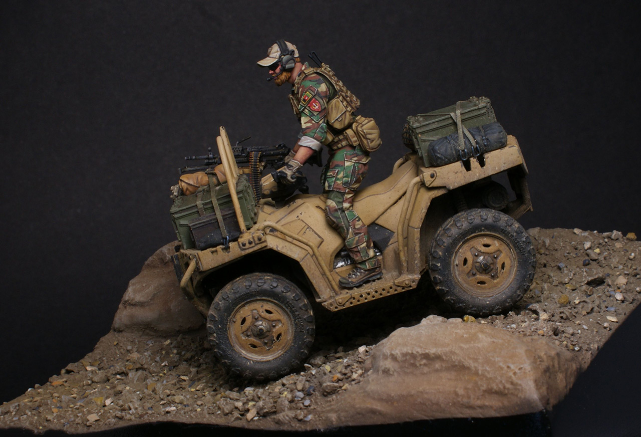Dioramas and Vignettes: Modern cavalry. MARSOC, photo #6