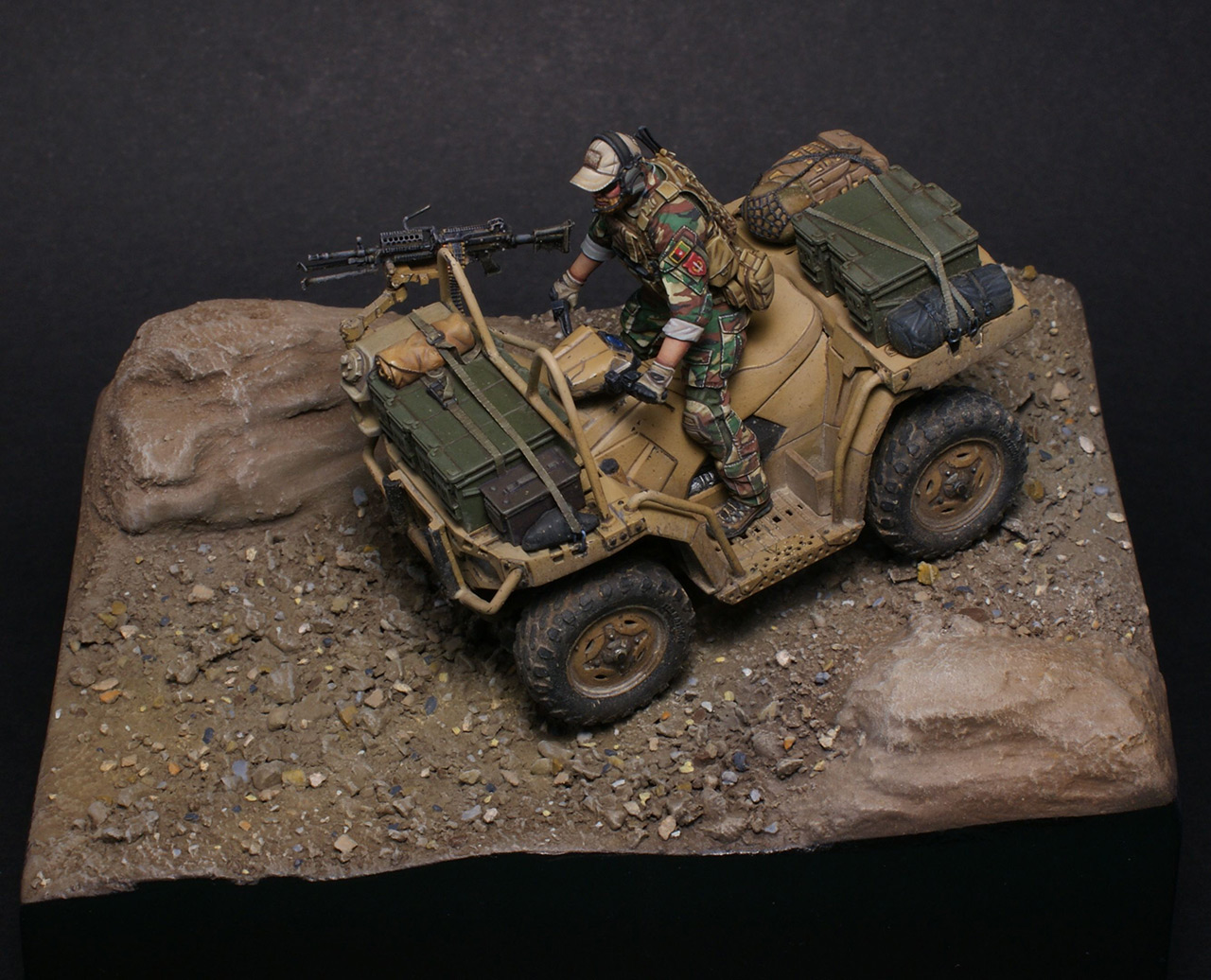 Dioramas and Vignettes: Modern cavalry. MARSOC, photo #7