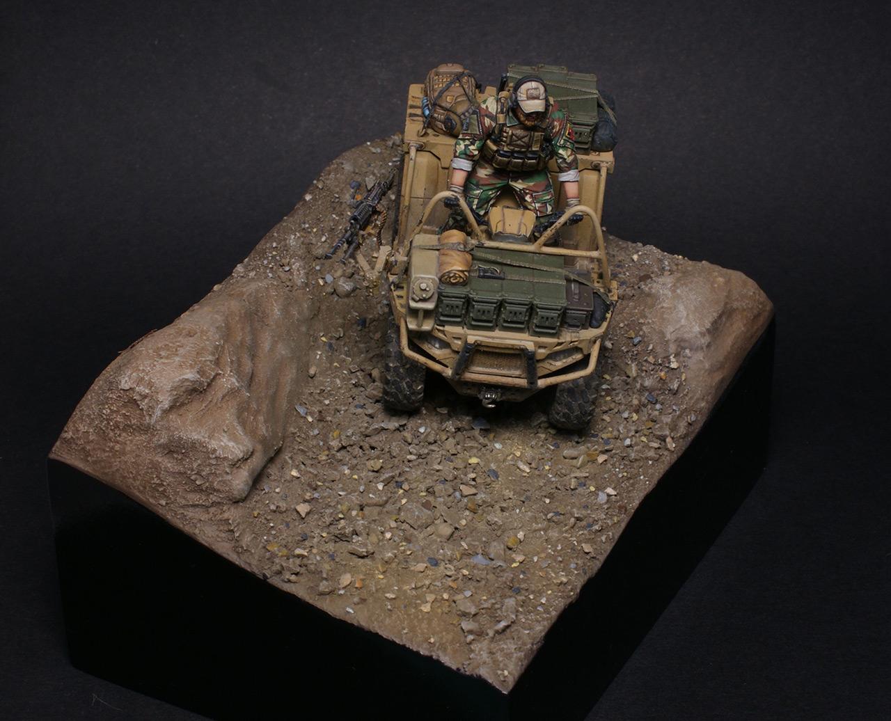 Dioramas and Vignettes: Modern cavalry. MARSOC, photo #8