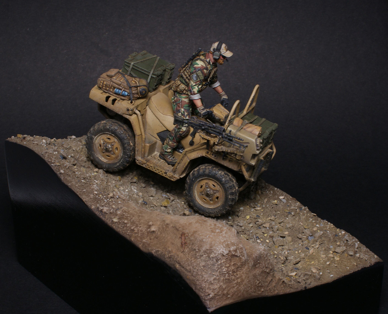 Dioramas and Vignettes: Modern cavalry. MARSOC, photo #9
