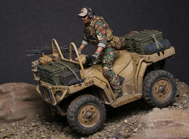 Dioramas and Vignettes: Modern cavalry. MARSOC