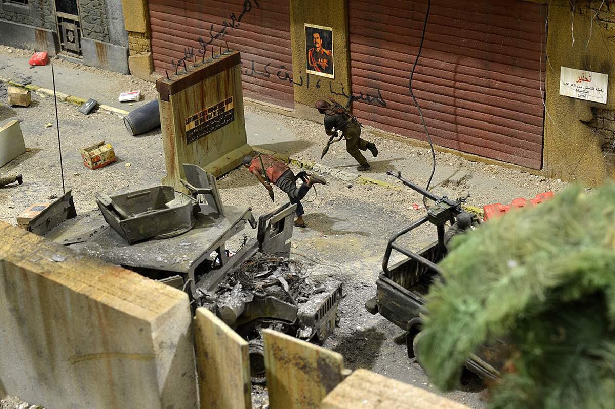 Dioramas and Vignettes: Smocked democracy, photo #56