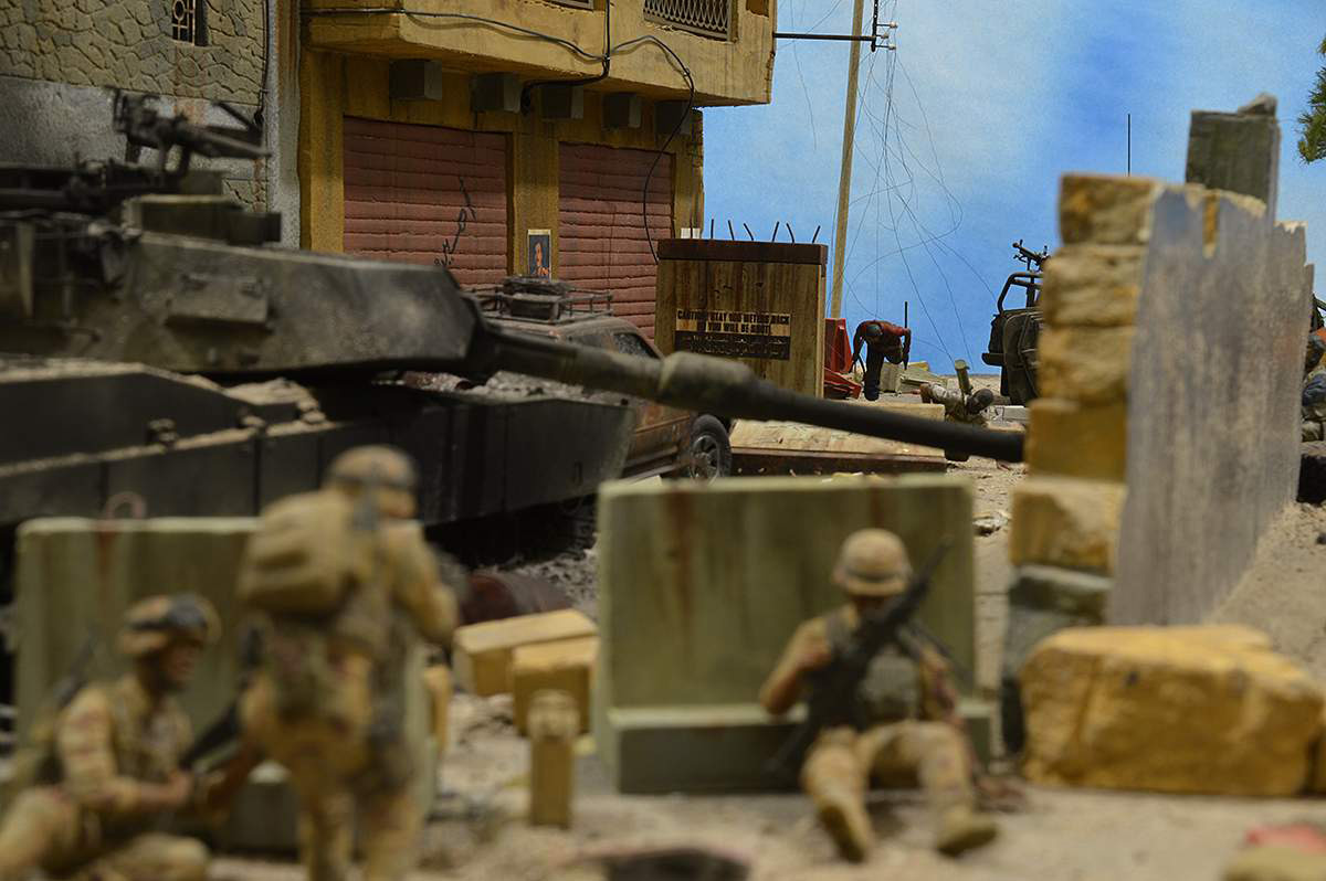 Dioramas and Vignettes: Smocked democracy, photo #58