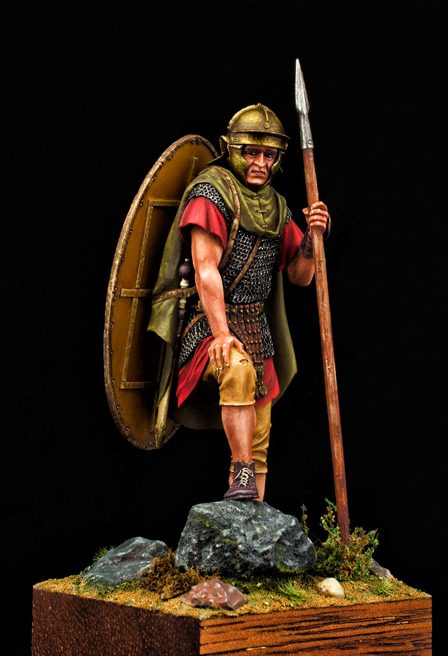 Figures: Roman auxiliary, II A.D., Dacian wars, photo #2