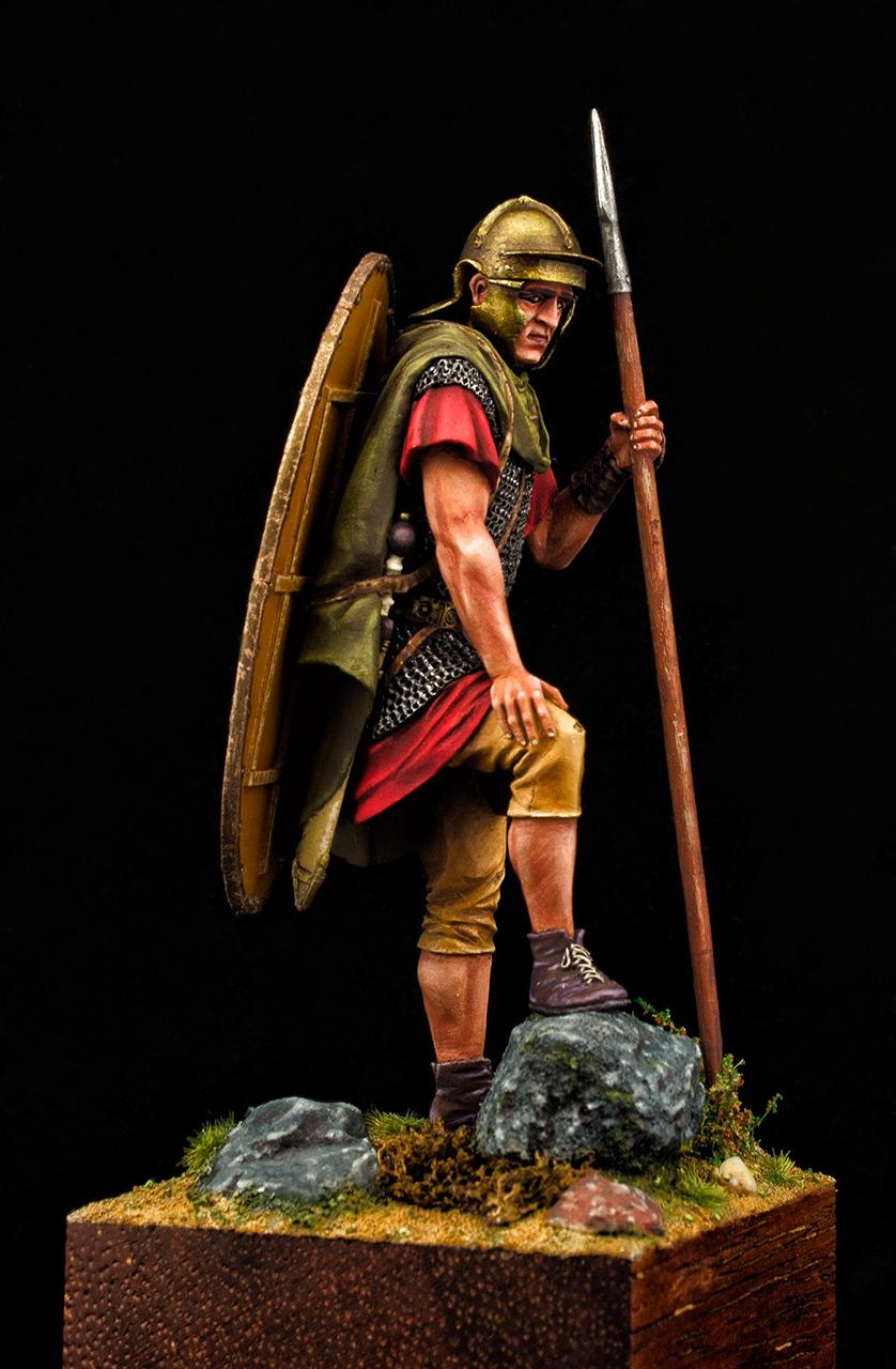 Figures: Roman auxiliary, II A.D., Dacian wars, photo #3