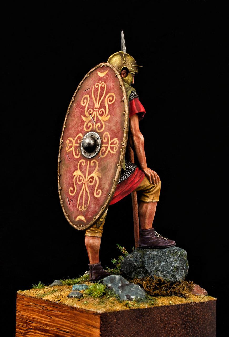 Figures: Roman auxiliary, II A.D., Dacian wars, photo #4