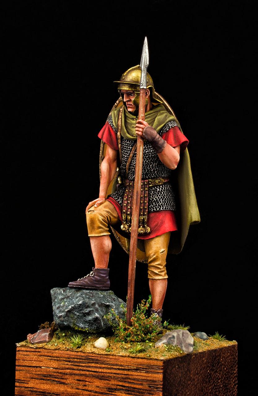 Figures: Roman auxiliary, II A.D., Dacian wars, photo #8
