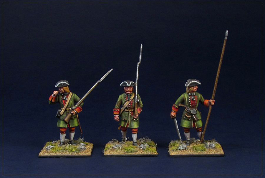 Figures: Russian infantry of Peter the Great, photo #1