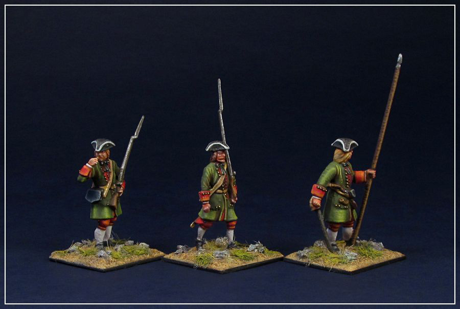 Figures: Russian infantry of Peter the Great, photo #2