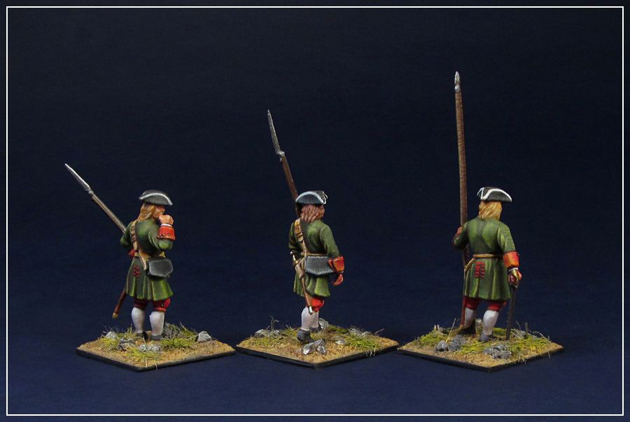Figures: Russian infantry of Peter the Great, photo #3