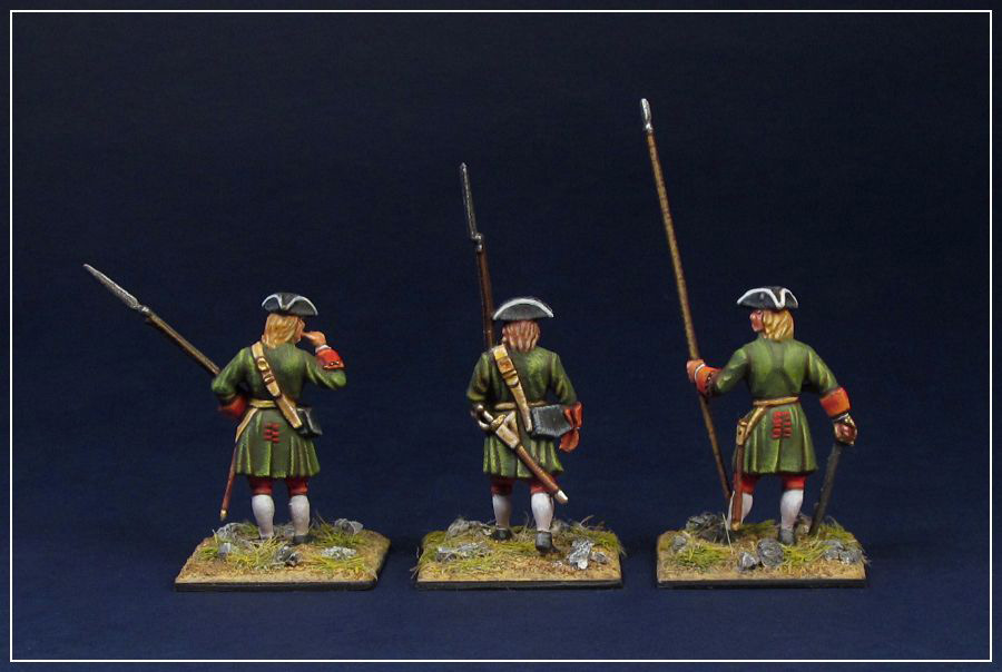 Figures: Russian infantry of Peter the Great, photo #4