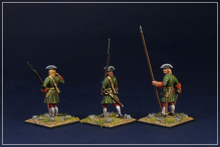 Figures: Russian infantry of Peter the Great, photo #5